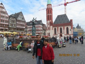 Frankfurt downtown
