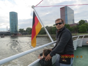 Frankfurt river cruise