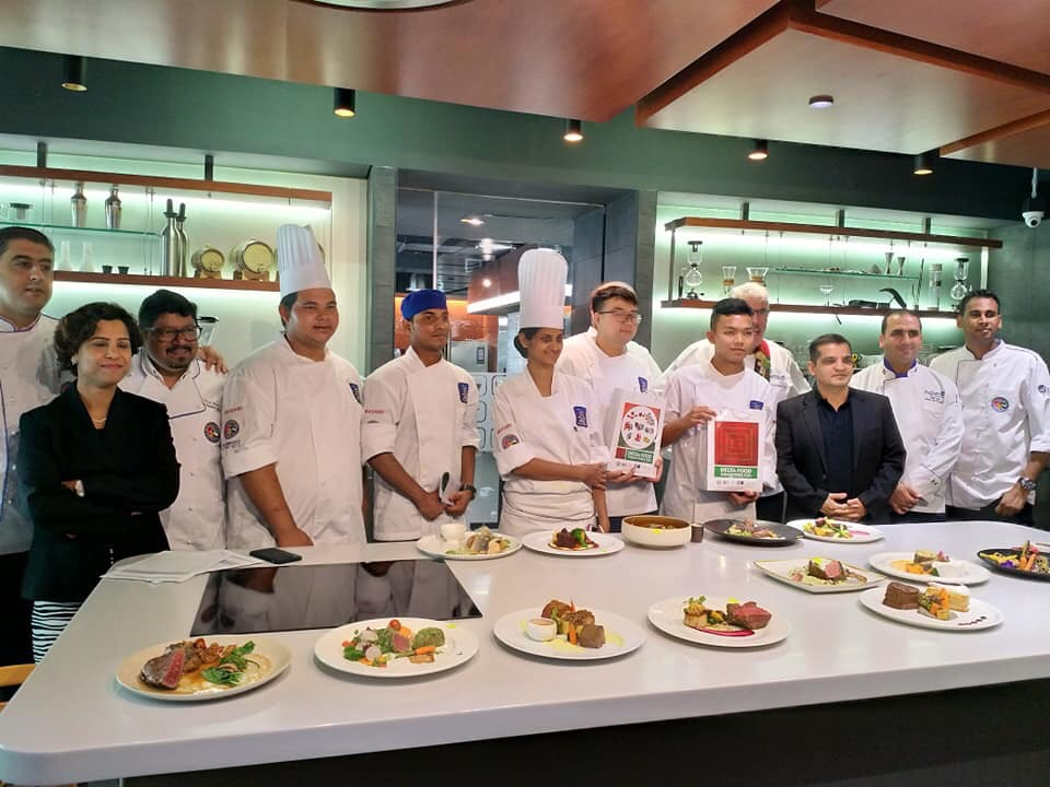 16 Young chefs competed in Semi-Finals of Hozpitality Chef